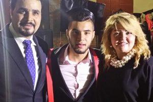 بالصور مها احمد ومجدى كامل يكشفان حقيقة مرض ابنهما