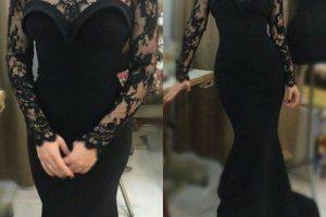 فساتين سواريه أرقى موديلات الفستان السواريه القصير والطويل 2018