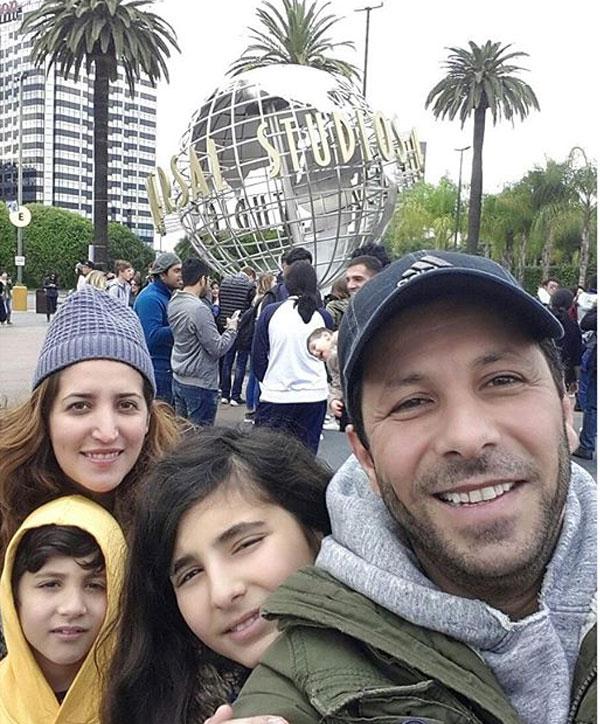 عائلة الفنان اياد نصار