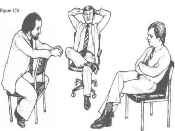 الجلوس فى لغة الجسد