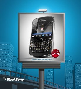 price blackberry