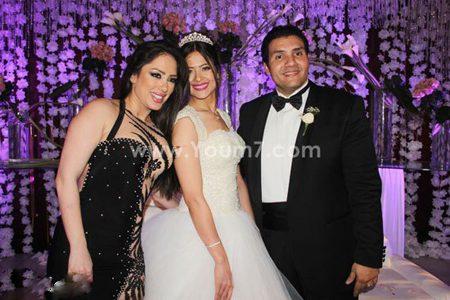 شاهد صور نجوم الفن والسياسة فى حضور حفل زفاف نجل المستشار أحمد الزند بحضور الراقصة اليسار ومحلب
