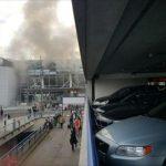 شاهد فيديو انفجارات مطار بروكسل في بلجيكا