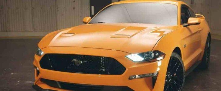 فورد موستنج 2018: شركة فورد الأمريكية تطلق سيارة  Ford Mustang 2018 الحديثة الرياضية بالمواصفات العالمية