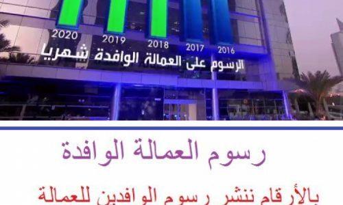 تطبيق رسوم المرافقين خفض من عدد العمالة الوافدة للمملكة العربية السعودية