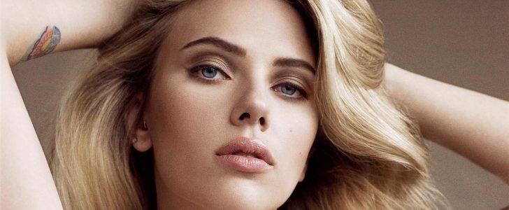 شاهد النجمة الأمريكية سكارليت جوهانسون Scarlett Johansson بدون مكياج