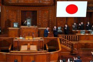 زيارة الرئيس عبد الفتاح السيسي داخل برلمان الشعب الياباني