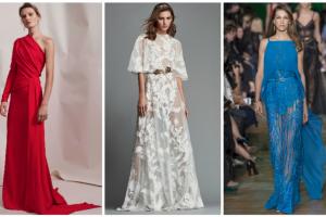 فساتين متنوعة عدد من أجمل موديلات الفساتين الطويلة والقصيرة لكافة المناسبات