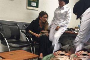 فيديو حصرى اولى لقطات ياسمين النرش بسجن القناطر والأرتباك الشديد يبدو عليها