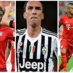 دوري أبطال أوروبا:يوفنتوس في مواجهة البايرن   وأرسنال في مواجهة برشلونة