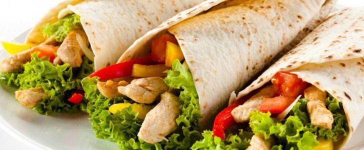 طريقة عمل شاورما بالخضروات والدجاج مفيدة و مغذية للأطفال والكبار