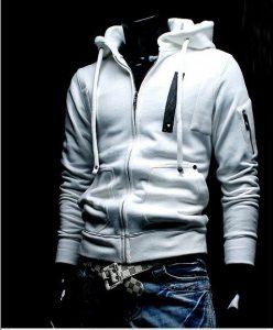 Free-shipping-Men-s-hoodies-jacket-coat-sweatshirt-British-Style-hooded-M-XXL-Coffee-Black