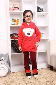 Special-Offer-4Colors-5-8Y-Thicken-Kids-Girls-Woolen-hoodies-Sweatshirts-Jersey-Children-sweat-shirt-Outerwear