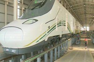 قطار الحرمين السريع : انطلاق أول رحلة تجريبية من جدة الى المدينة مع اقتراب موسم الحج