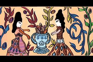 احتفال جوجل اليوم بذكرى ميلاد فنانة الرسم التشكيلى الجزائرية باية محى الدين