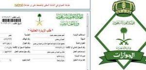 نظام الزيارة الجديد للمملكة بقيمة 300 ريال سعودي