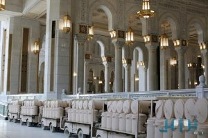 امارة منطقة مكة المكرمة : الاعلان عن موعد افتتاح مشروع اعادة تأهيل بئر زمزم