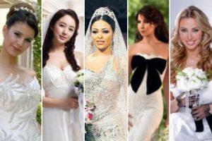 استوحى تصميم فستان زفافك من فساتين زفاف المشاهير