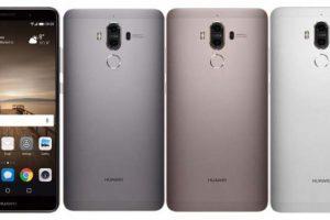 الهاتف الذكي هواوي Huawei Mate 9 مواصفاته ومميزاته وعيوبه