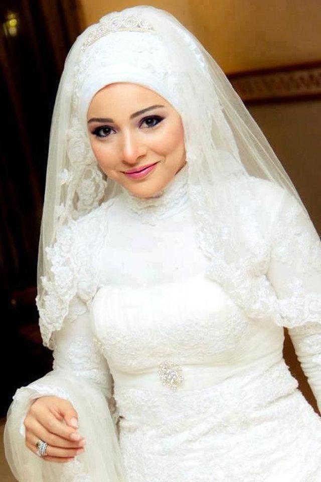 لفة طرح العرائس