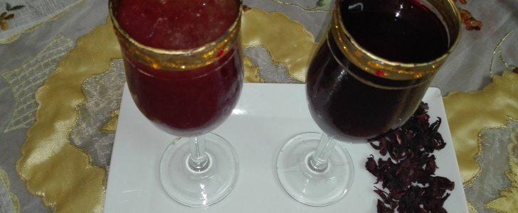 طرق تحضير عصير التمر هندي مع الكركديه في رمضان