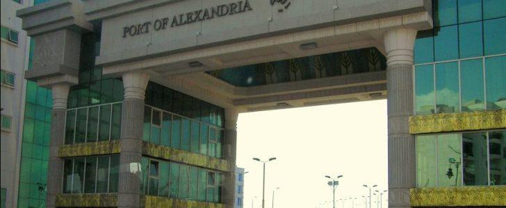الطقس السيئ يتسبب في غلق موانئ الاسكندرية