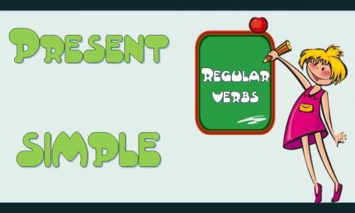 شرح زمن المضارع البسيط Present Simple tense