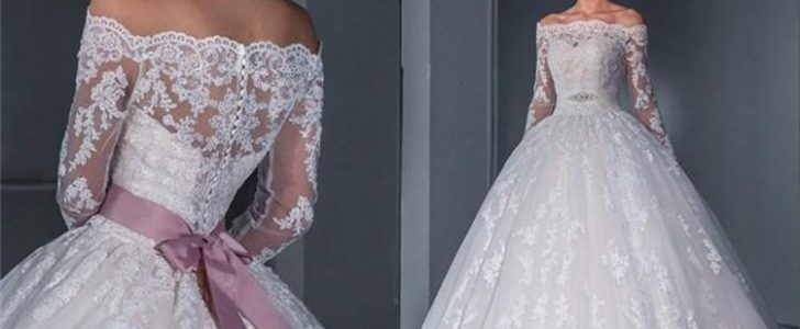 أجمل وأشيك فساتين زفاف لربيع 2016