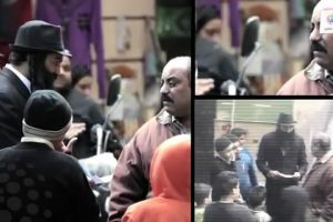 شاهد رد فعل المصريين وماذا فعلوا عند رؤيتهم يهودى يمشى فى أحد شوارع القاهرة يسألهم عن المعبد اليهودى