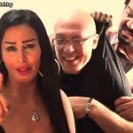 شاهد صوره عمرو دياب مع بطلة الكليب الاباحي (سيب ايدي) تضعه فى ازمة كبيرة ويغضب جماهيره