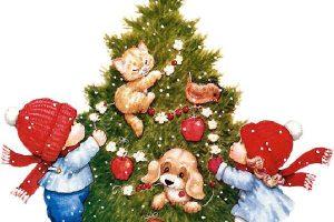 بالصور أفكار مبتكرة لتزيين شجرة عيد الميلاد واحتفالات الكريسماس 2018