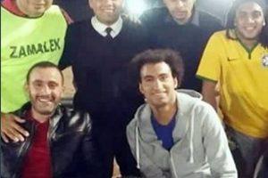 بعد مباراة كرة قدم جمعت بينهم احمد السقا ينشر صوره مع نجوم مسرح مصر على انستجرام