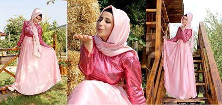 فستاتين خطوبة للمحجبات فقط لربيع 2016