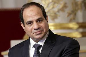 """السيسى يرد على """" اديب """" حول ترشحه لفترة رئاسة جديدة"""