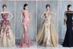 فساتين سهرة جديدة مجموعة متألقة متميزة لفساتين الحفلات بالموديلات المحتلفة