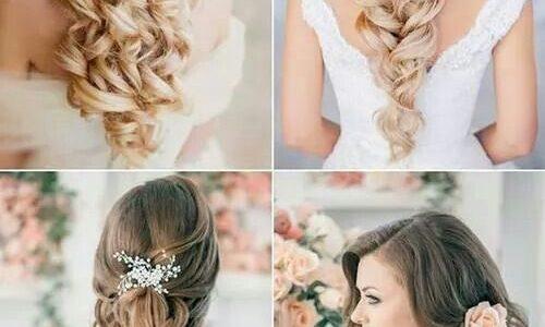 أشكال مختلفة ورائعة من تسريحات شعر الحفلات والسهرات الليلية