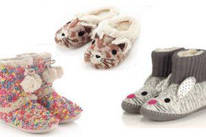 موديلات مختلفة من الأحذية البيتى لمواجهة برودة الشتاء مجموعة شوزات أنيقة للبيت